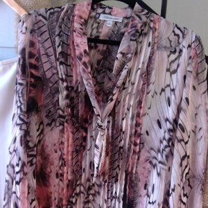 Jennifer Lopez Womens Blouse Size L